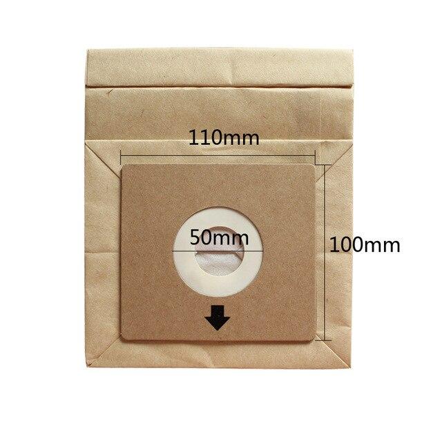 Универсальный пылесос мешки одноразовые Бумага пылесборника Замена Z1550 Z2332