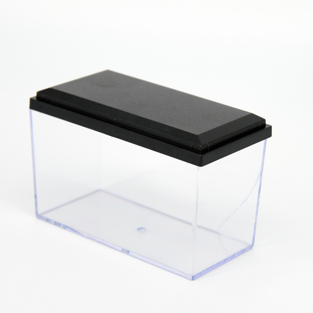 Display Case Box Acrylic Show Case Black Base for Diecast Models 1:64 Cars