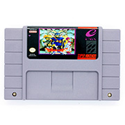 Dragon Quest I.II game cartridge for ntsc console image