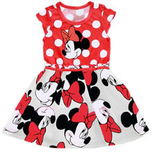 fef79f4e0d Vestido de la princesa 2018 nueva ropa de los niños Minnie Dot niños vestido  tutú de