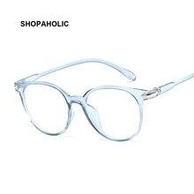 Fashion Vintage Transparent Cat Eye Women Glasses Retro Oval