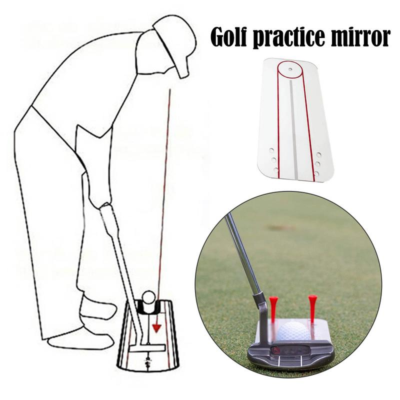 Image 3 - New Golf Practice Mirror Swing Practice Mirror Swing Trainer Golf Sport Sturdy And Durable Golf Practice Mirror Portable-in Golf Training Aids from Sports & Entertainment