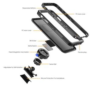 Image 3 - Support de vélo étui de téléphone pour iPhone Xs Max étui rotatif vélo guidon support de montage couverture de téléphone pour iPhone XS Max antichoc