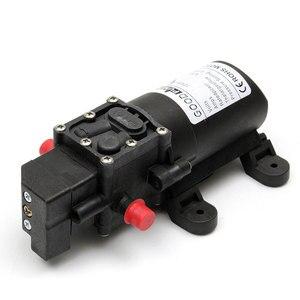 Image 5 - DC 12V 130PSI 6L/דקות מים גבוהה לחץ דיאפרגמה משאבת מים עצמי תחול משאבת אוטומטי מתג