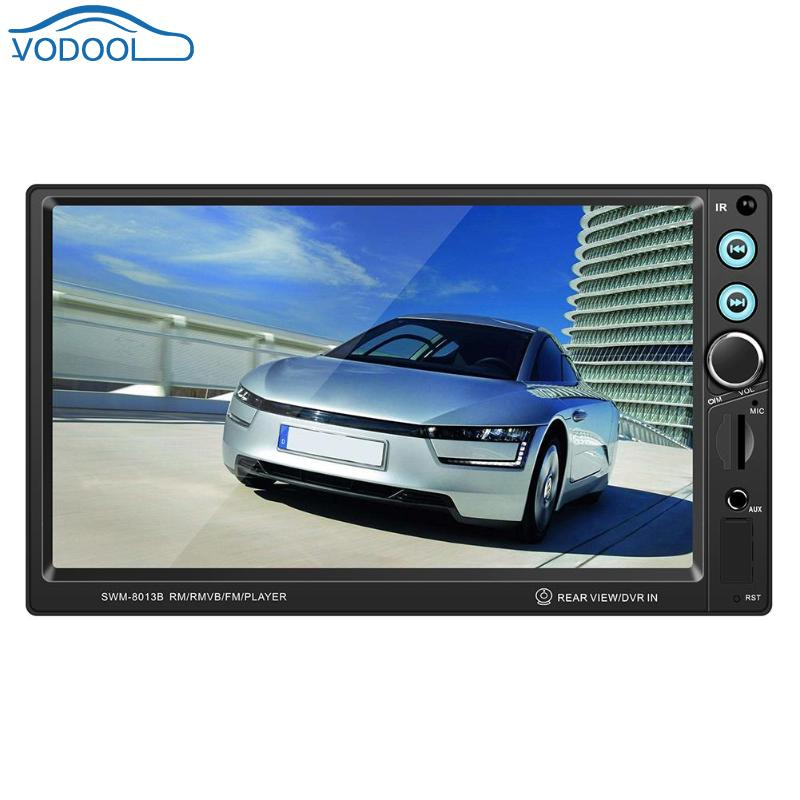 7 Inch 2 Din Car Stereo MP5 Player Bluetooth MP5 MP3 Music Video Player FM Radio