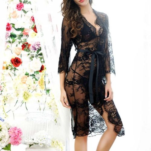 Women Sexy Lingerie Lace Sleepwear G-String Babydoll Nightwear