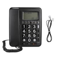 Meeting Recorder KX 719 Wired English Telephone with Speaker Voice Recorder Wiith Caller ID Display grabadora de voz profesional