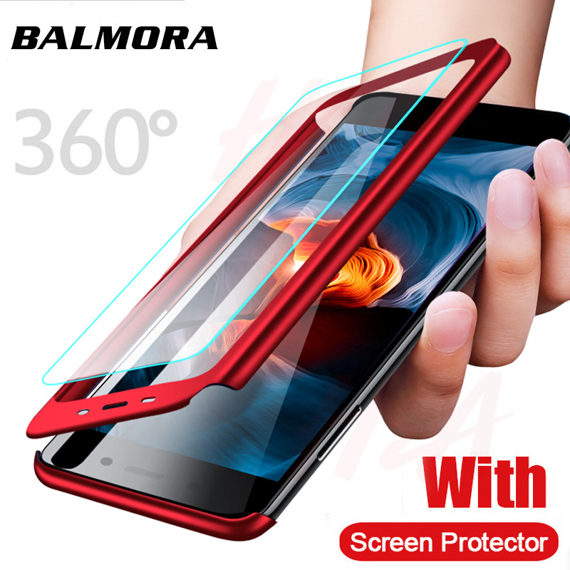 Balmora 360 Full Protection Case For Redmi 4 5plus 4X Note 4 5 6pro 4X Note7 Phone Cover Case For Xiaomi Redmi 6 5 5a 6plus in Fitted Cases from Cellphones Telecommunications
