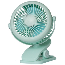 New Usb 5V 5W Home Appliances Portable Usb Charging Fan With Clip For Bedside Baby Stroller