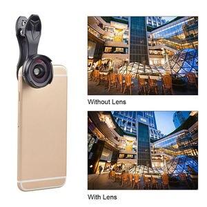 Image 3 - Apexel Pro Optic Smartphone Kamera Objektiv Kit 4K Hd 0.6X Weitwinkel + 10X Makro 2 In 1 Objektiv für Iphone Xiaomi Samsung Keine Dunkle Circ