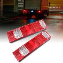 Светодио дный 12 В в 52 LED прицепы караван UTE Лодка Грузовик задний хвост световой индикатор набор ламп для прицепы грузовики Утес лодка караваны и т. д