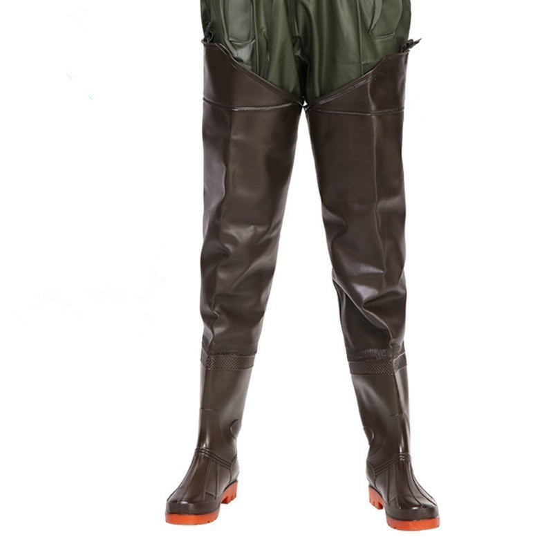Wading Pants Trousers Waders Hunting Fishing Waterproof Catch Lightweight Outdoor Half-Body