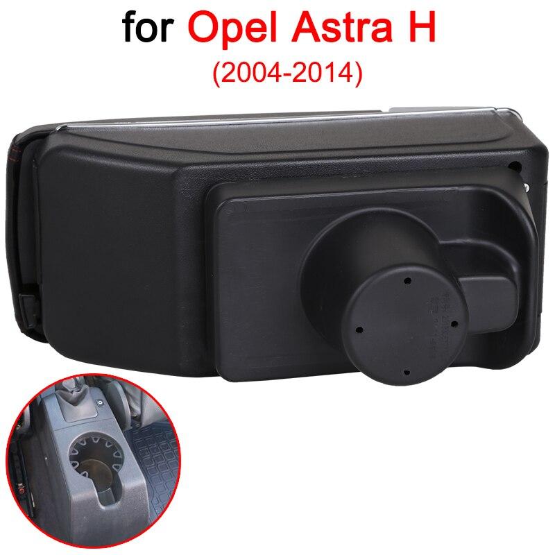 Pour Opel Astra accoudoir boîte Opel Astra H universel voiture accoudoir Central boîte de rangement support de verre cendrier modification accessoires - 3
