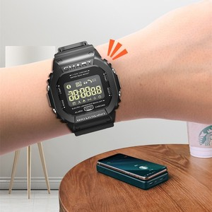Image 5 - COXRY dikdörtgen akıllı saat spor saatler erkekler bilezik 2019 Smartwatch koşu kadınlar dijital elektronik kol saati saat alarmı