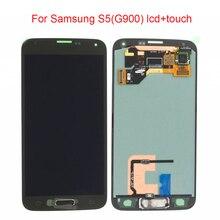 JPFIX ЖК-дисплей для samsung S5 G900F дисплей ЖК-экран сенсорный дигитайзер сборка без рамки без домашней кнопки