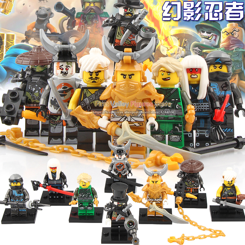 Nya Iron Baron Master Of The Golden Dragon Building Blocks Toys For Children Legoing Friends Legoing Ninjagoes Harumi Wu teen