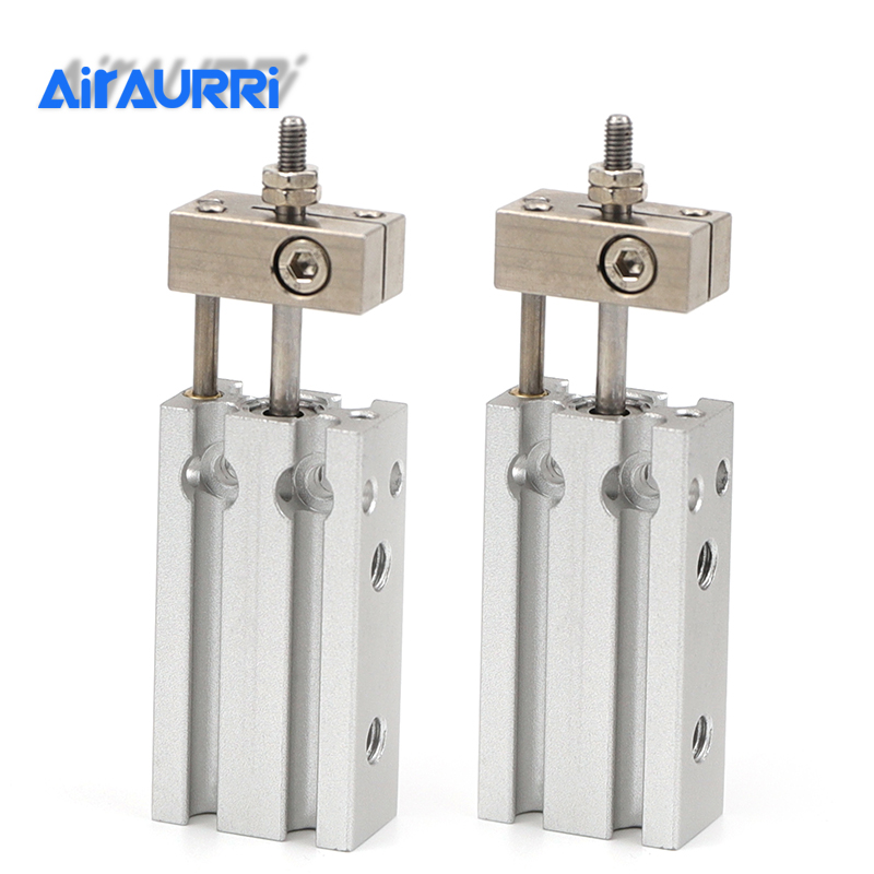 SMC type Double Acting Non-rotating Rod Type bore 6mm stroke 5/10/15/20/30mm Free Mount Cylinder Single Rod CUK6-30DSMC type Double Acting Non-rotating Rod Type bore 6mm stroke 5/10/15/20/30mm Free Mount Cylinder Single Rod CUK6-30D