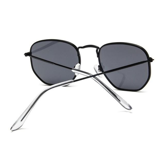 Vintage Square Sunglasses Women Men Shades Retro Classic Black Lady Sun Glasses Female Male Luxury Brand Designer Oculos De Sol