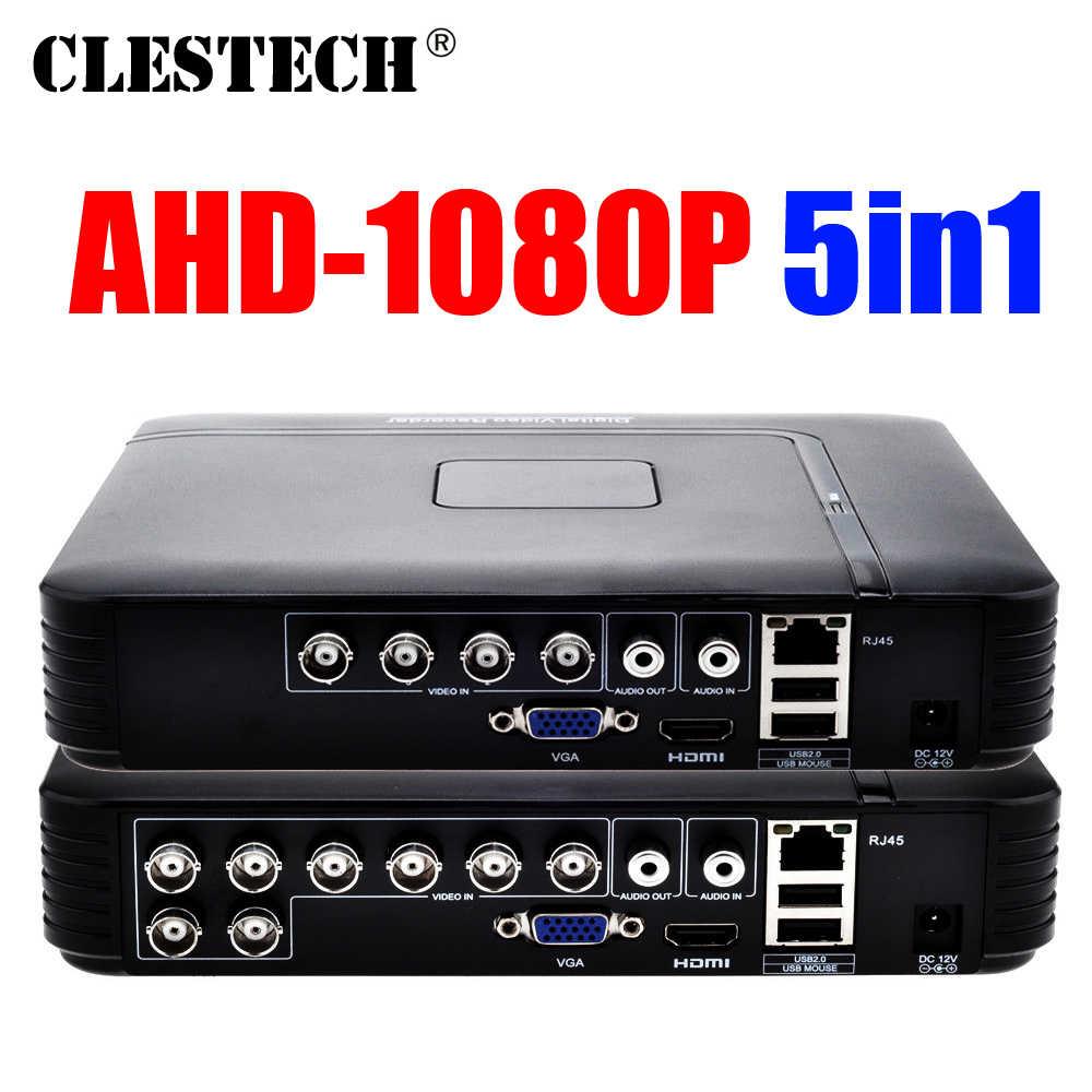 Khusus Harga D1 H265 HDMI Sistem Keamanan CCTV 4/8CH Channel 1080 P 1080N 5in1 AHD DVR NVR hybrid Perekam Ponsel Hvr RS485