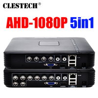 Special price Full D1 H265 HDMI Security System CCTV 4/8CH Channel 1080P 1080N 5in1 AHD DVR NVR Hybrid Recorder Mobile HVR RS485
