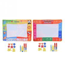 Новая основная плата передатчика дети Акварель Рисование Коврик для письма ребенок развития Doodle доска игрушка с ручкой рисунок игрушки подарок Рождество