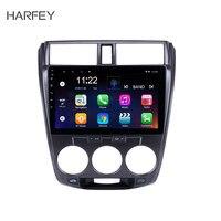 Harfey 2 Din 10,1 Android 6,0/7,1/8,1 автомобильное радио для Honda CITY 2011 2012 2013 2014 2015 2016 gps 1 Гб ram мультимедийный плеер