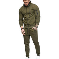 5c9054e18a80cc Thefound 2019 Fashion Mens Tracksuit Set Hoodie Top Bottoms Jogging Joggers  Gym S XXL Sports Suit