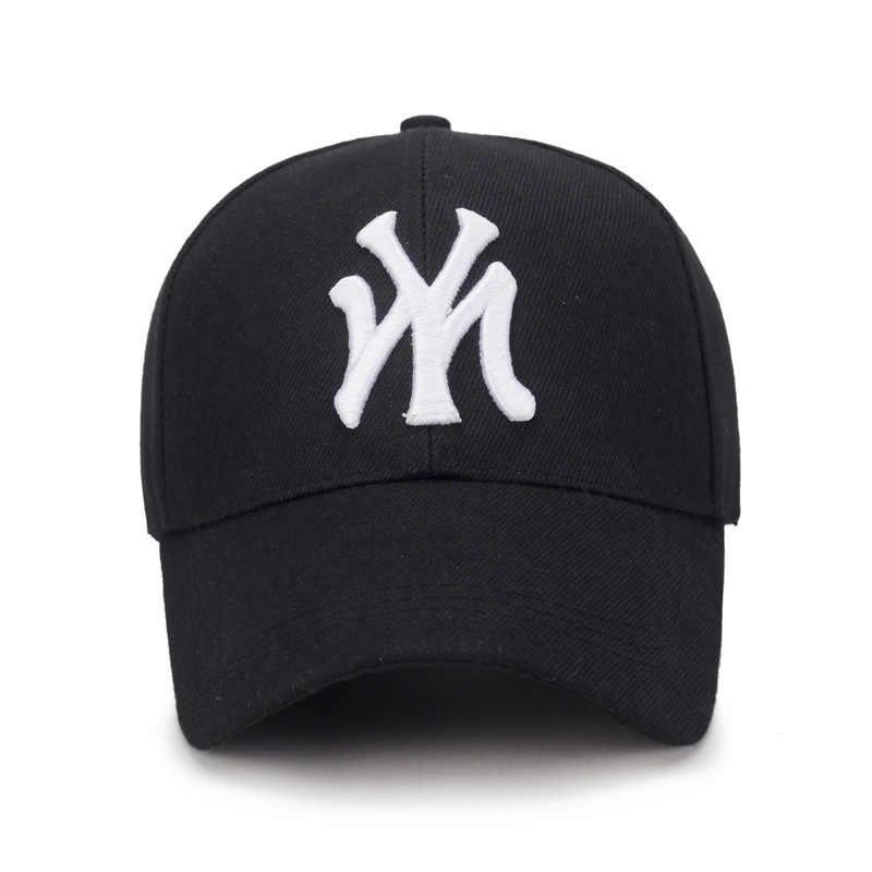 2019 Baru Saya Tiga Dimensi Bordir Ayah Topi Pria Musim Panas Fashion Bisbol Cap Liar Musim Semi Musim Gugur Visor Topi Adjustable Topi