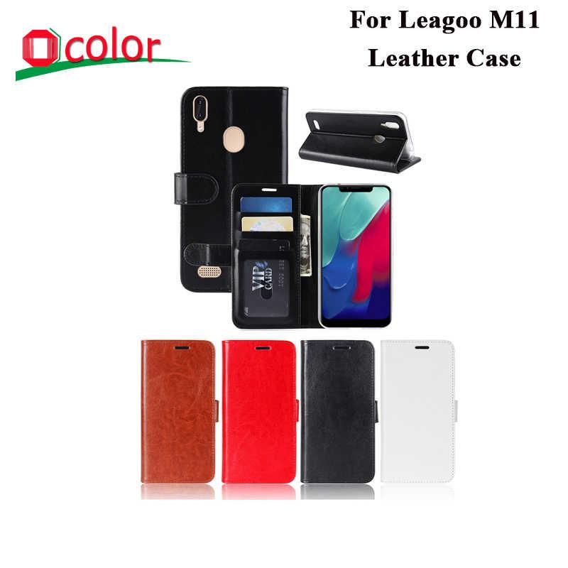 Ocolor ため Leagoo M11 と交換 Leagoo M11 カードポケット Fundas キャパ 6.18''