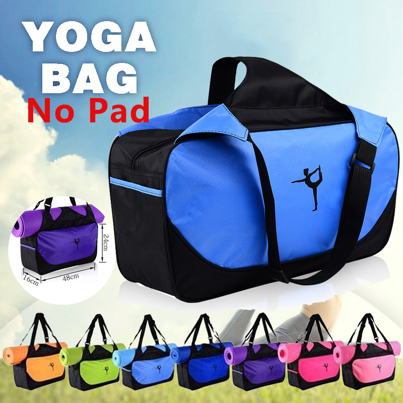 Adjustable Strap Nylon Mat Bag Carrier Mesh For Yoga Gym Fitness Exercise Sports Useful Ropa, Calzado Y Complementos