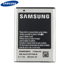 Original Replacement Phone Battery EB494358VU For Samsung Galaxy Ace S5830 S5660 S7250D S5670 i569 Rechargeable Battery 1350mAh mallper replacement 3 7v 1200mah li ion battery for samsung galaxy ace s5830 orange