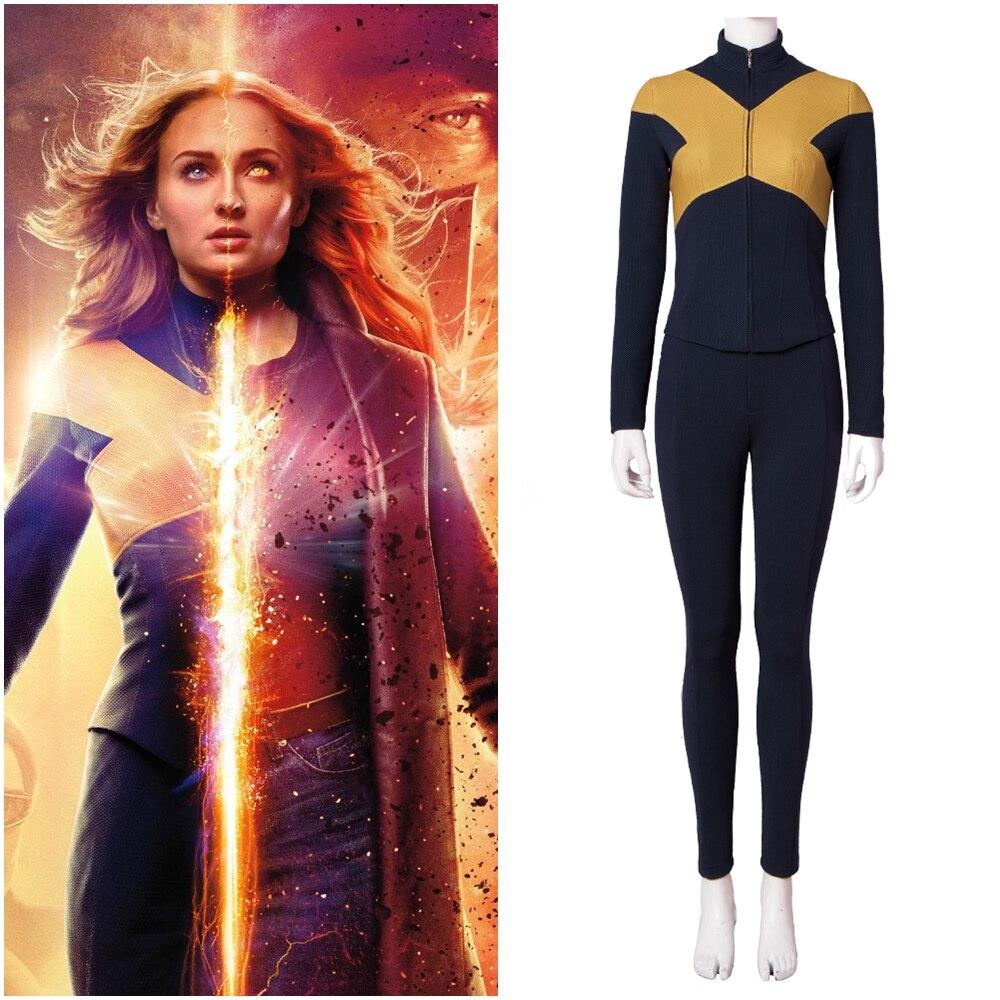 X-Men Dark Phoenix Mystique Raven Darkholme Jean Grey Cosplay Costume Version 1
