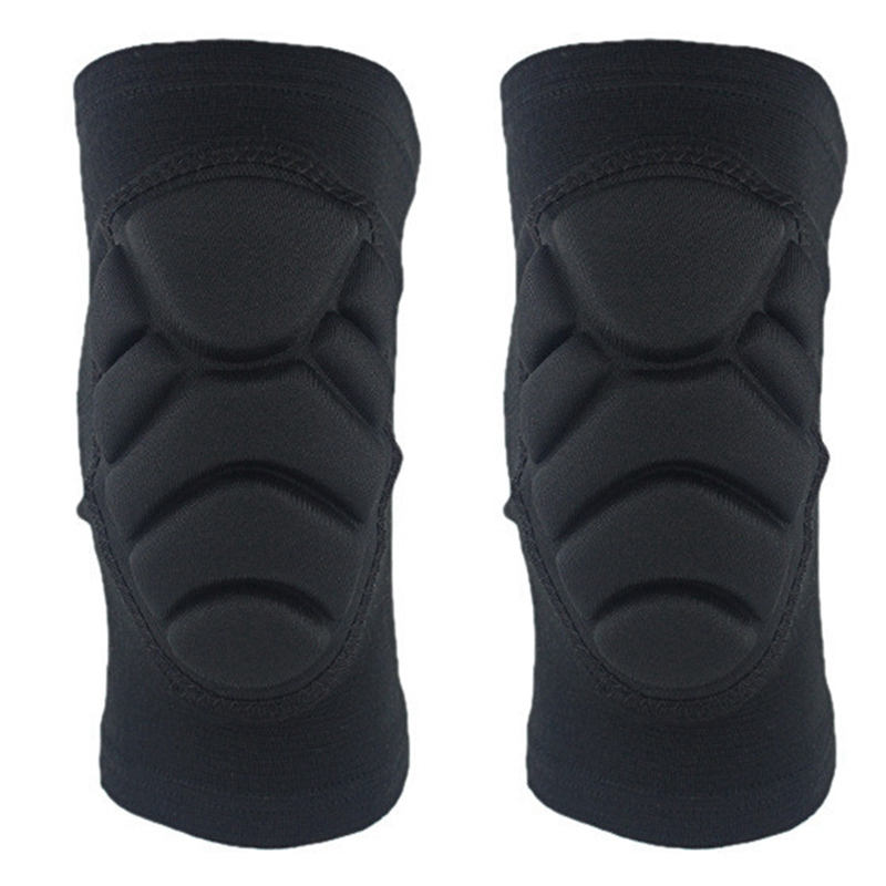 1Pair Adult Anti-Collision Knee Protector Breathable Thickening Sponge Kneepads Elastic Skating Volleyball Knee Pads