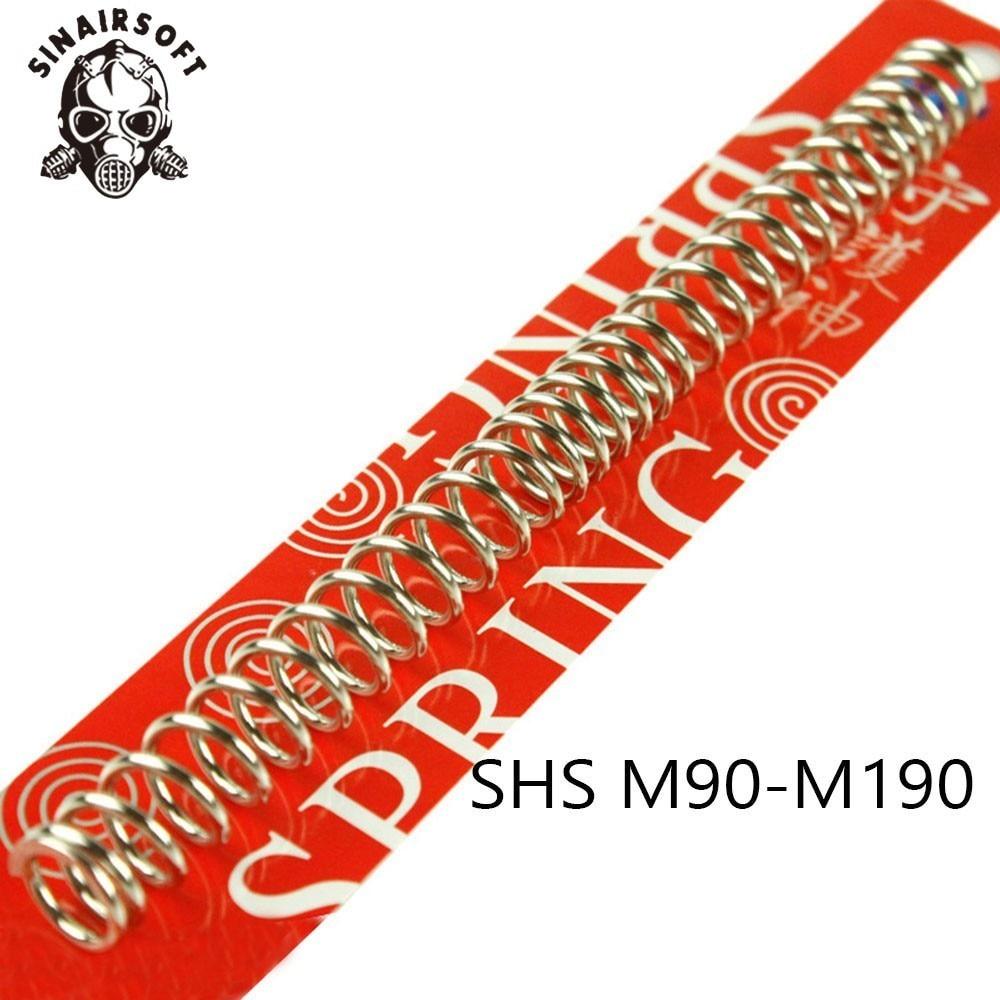 SHS M90 M100 M110 M120 M130 M140 M150 M160 M170 M190 AEG Spring For Airsoft Marui G&P G&G ICS Cybergun