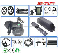 Bafang двигатель BBS02B 48 в 750 Вт Электрический велосипед conversion kit batterie Акку батарея BBS02B 13/17Ah 52v13/17.5Ah ЕС США нет налога
