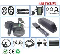 Bafang motor BBS02B 48V 750w electric bike conversion kit batterie akku 48v battery BBS02B 48V 13/17Ah 52v13/17.5Ah EU US NO tax