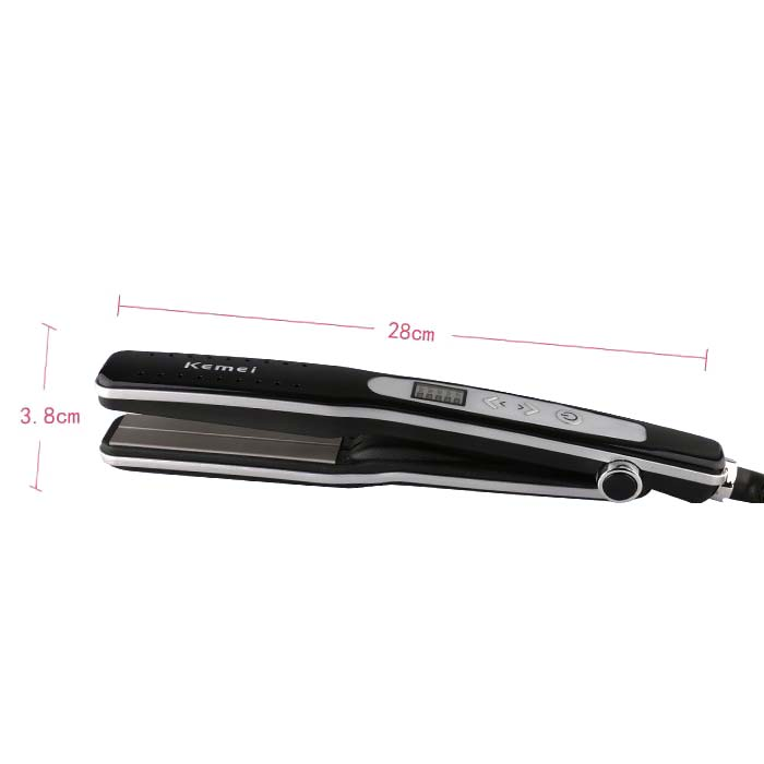 Kemei KM 8811 wet and dry hair straightener straight hair curlers in Curling Irons from Home Appliances