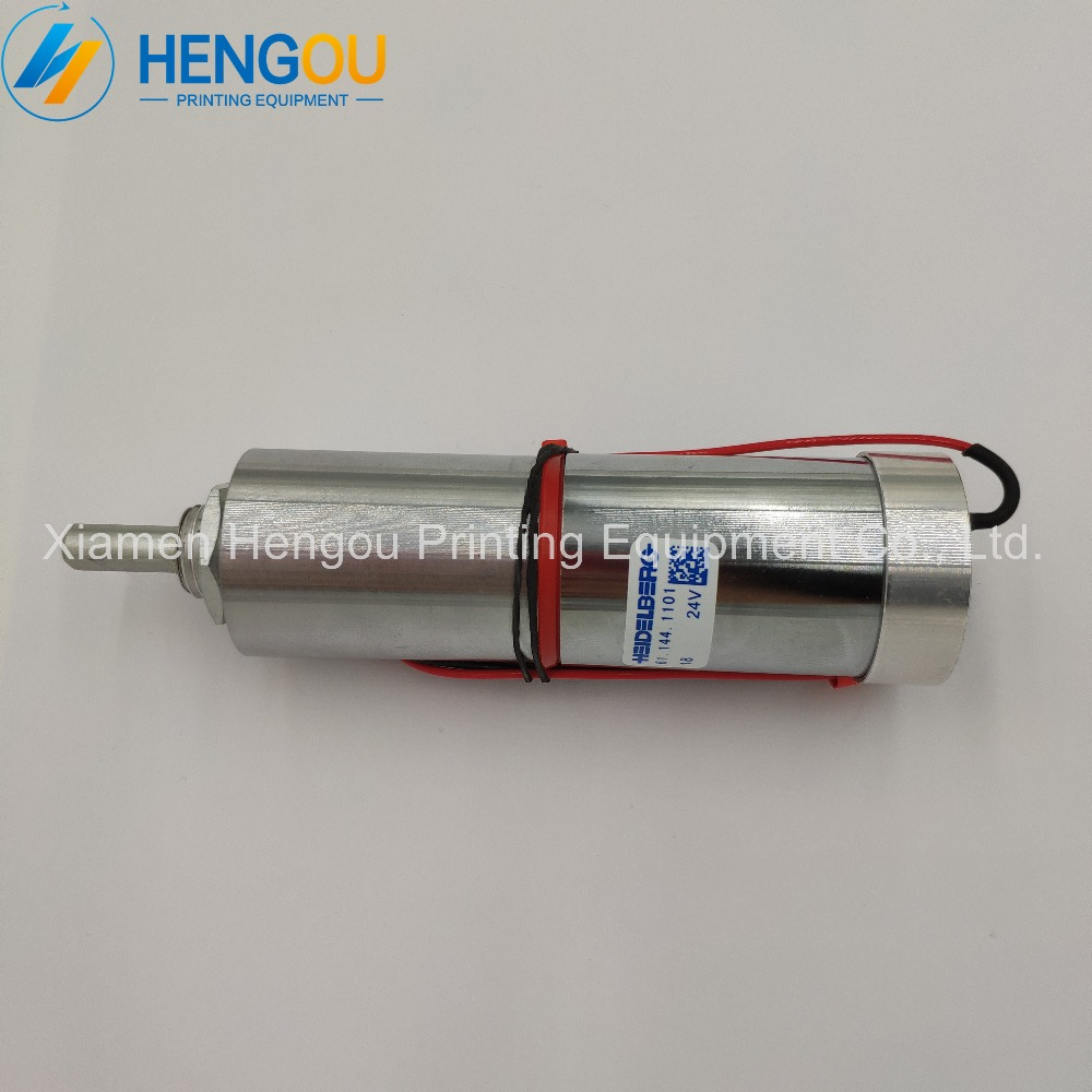 2 Pieces durable geared motor 61 144 1101 for offset SM102 CD102 machine motor 24V