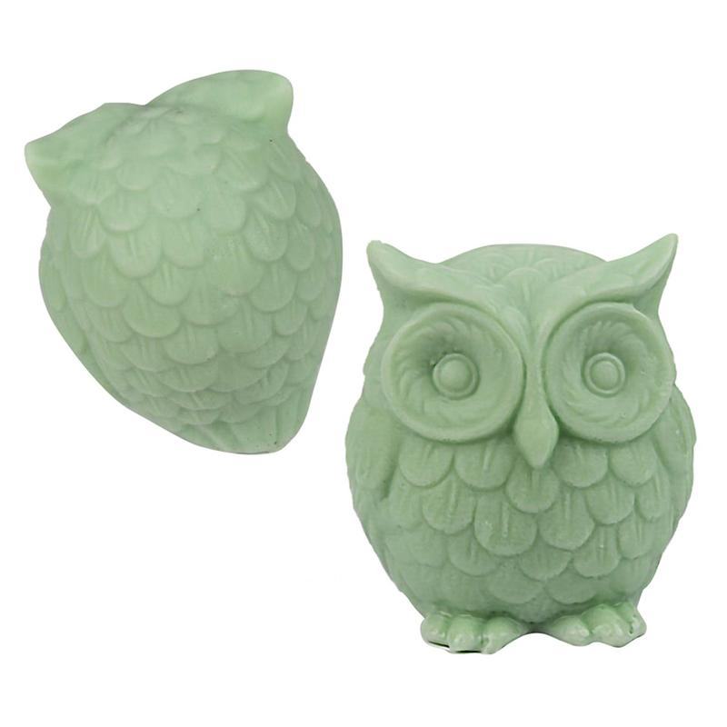 Silicone Mold For Making Owl Shaped Soap