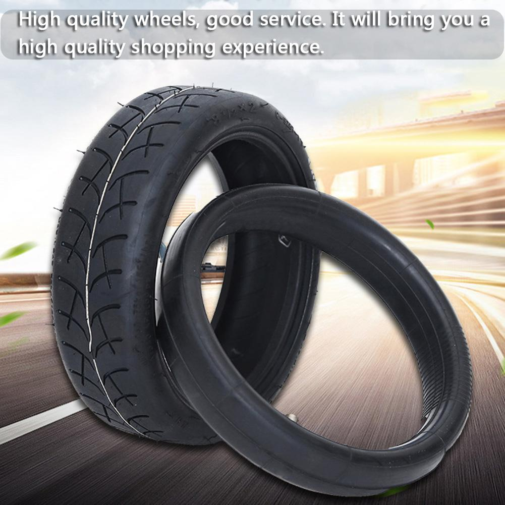 New Black Electric Scooter Tire Inner Outer Pneumatic Tyre Compatible With 8.5 Inches For Xiaomi M365 Non Slip Durable Tire