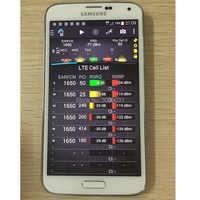 s5 G900F tems pocket 15.4 handset + LTE FDD cat4 +all social Networks & VOLTE & POLQA& PESQ test +Free Shipping dhl & ems