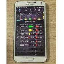 S5 G900F пакет тем 15,4 телефон + LTE FDD cat4 + всех социальных сетей и VOLTE и POLQA и PESQ Тесты + бесплатная доставка DHL и EMS