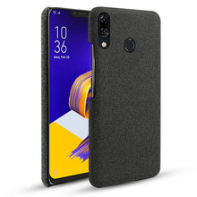 For Asus Zenfone 5 ZE620KL 5Z ZS620KL Case Slim Woven Fabric Cloth Anti-scratch Hard PC Cover For Asus Zenfone 5 ZE620KL Case(China)