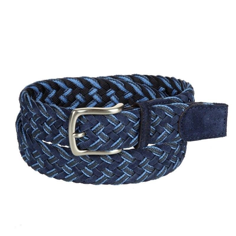 Belt Miguel Bellido unisex 840/35 1860/12 navy blue unisex adjustable posture corrector back support belt for adults