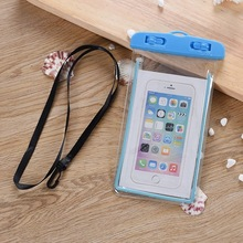 6 inch currency Waterproof Bag of Mobile Phone for Beach Swimming in Summer Color fluorescent couple