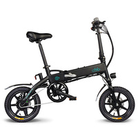 FIIDO D1 EU 10.4Ah складной электрический велосипед из алюминиевого сплава прочный быстрый складной портативный легкий Электрический велосипед