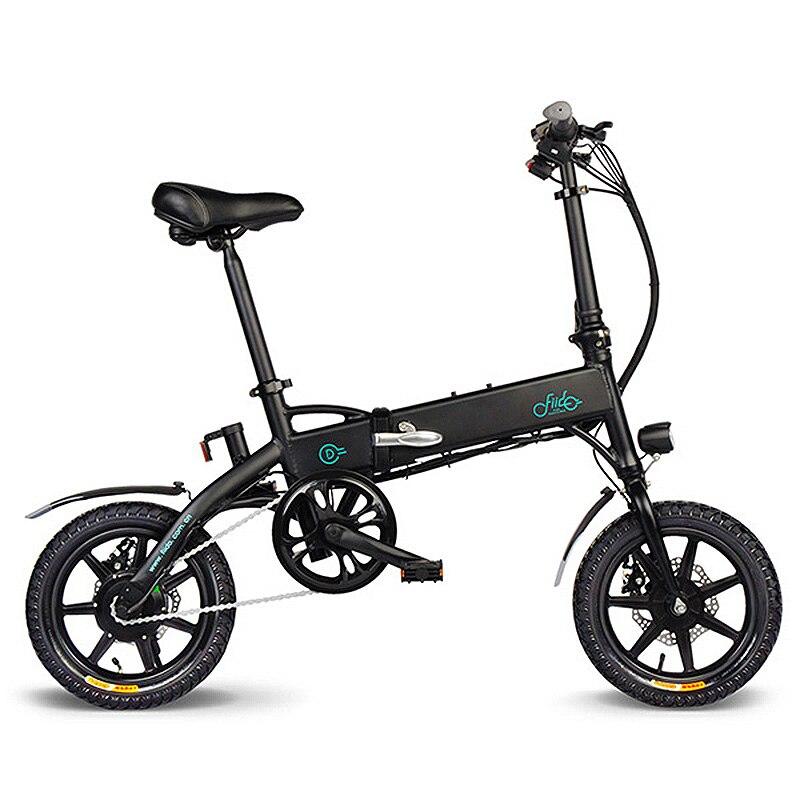 Vélo électrique pliant Durable en alliage d'aluminium FIIDO D1 EU 10.4Ah vélo électrique léger Portable à pliage rapide
