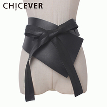 CHICEVER 2019 Summer Irregular Bandage Female Belts Made Of
