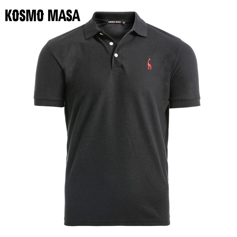 KOSMO MASA 2019   Polo   Shirt Men Cotton Short Sleeve Collar Casual Mens   Polo   Shirts Summer Top Male   Polo   Shirts For Men 3XL MP0004