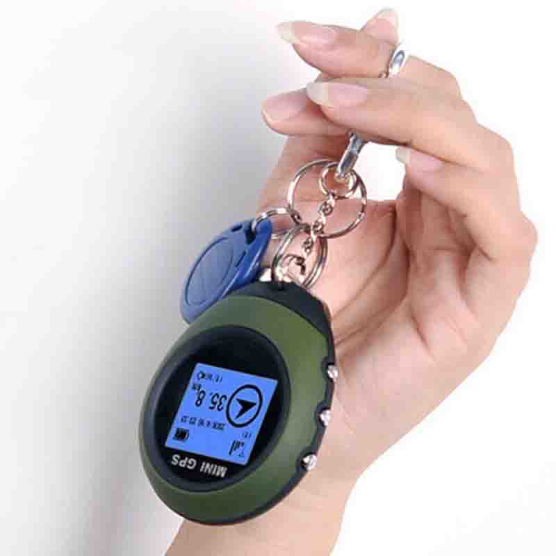 New Mini GPS Tracker Locator Finder Navigation Receiver Handheld USB Rechargeable Location Tracker For Outdoor Sport Travel